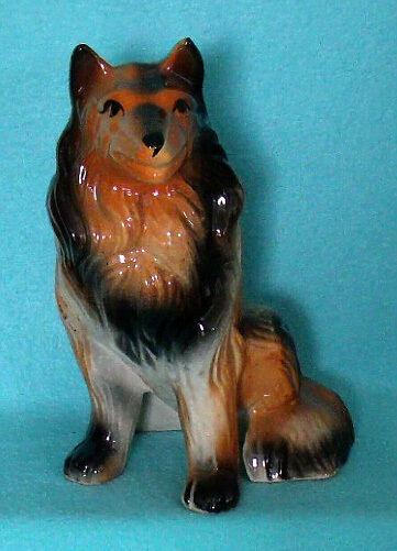 Vintage Collie Dog Bank