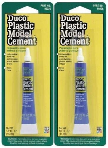Devcon Duco 1/2oz Plastic Model Cement Glue PACK OF 2! Adhesives, Sealants & Tapes