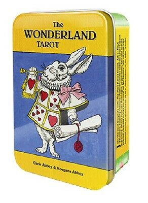 Wonderland Tarot Pocket Edition Tarot Collectible Tin NEW 78 cards 56 pg booklet