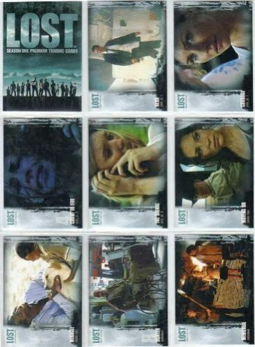 INKWORKS - LOST SEASON 1 PREMIUM COMPLETE BASE 90 TRADING CARD SET