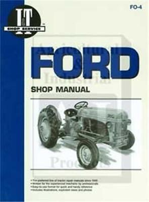 Ford 9n 2n 8n Tractor I T Brand Shop Repair Manual Fo4