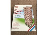 Garden giant tumble tower game