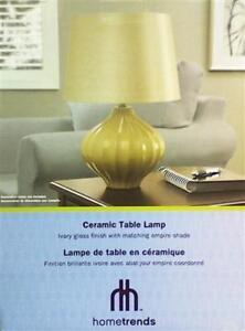 New *2 AVAILABLE* Hometrends Ceramic Table Lamp (Pick-up Only) - DI12