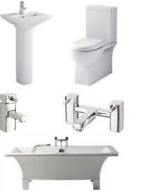 Bathroom Suite -Square Freestanding Complete Bathroom Suite £599.00