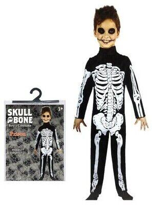 Halloween Party Kostüm Skelett Jungen Klein Mittel Groß - Kleiner Junge Skelett Kostüm