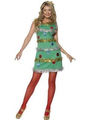 Damen Weihnachtsbaum Maskenkostüm Grün Weihnachten Damen Outfit mit - Weihnachtsbaum Outfit