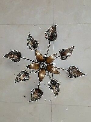 Ceiling Light Chandelier Wrought Iron With Giglio Diam 50 CM