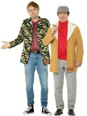 Narren & Pferde Herren Kostüm 80s TV Del Boy Rodney Junggesellenabschied - Del Boy Kostüm