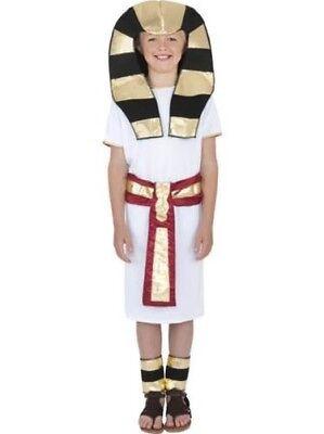 Jungen Ägyptisch Jungen Kostüm Alte Geschichte Pharao Outfit ()