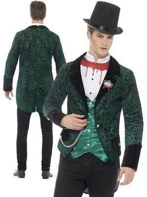 Viktorianisch Vampir Kostüm Herren Deluxe Halloween Kostüm - Deluxe Viktorianischen Vampir Kostüm