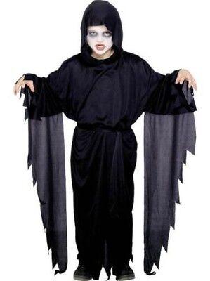 Kinder Screamer Geister Gewand Kostüm Jungen Mädchen Halloween Gruseliges - Screamers Kostüm