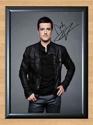 Josh Hutcherson Peeta Hunger Games Signed Autographed A4 Poster Print Photo dvd (Hunger Games Dekorationen)