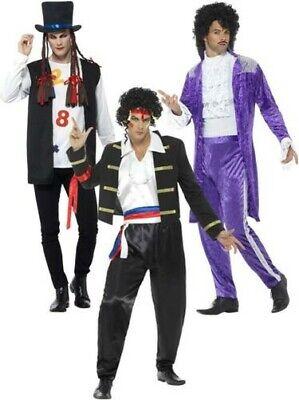 80s Pop Star Neu Romantische Kostüm Lila Adam Ant Prince Boy - Roman Boy Kostüm