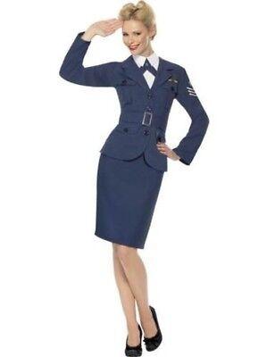 Damen WW2 Air Force Kapitän Kostüm 1940s Jahre - Air Force Uniform Kostüme