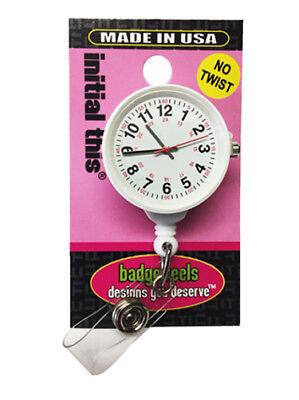 Medical Nurse Retractable Clip Badge Holder Watch with 24 (Nurse Clip Watch)