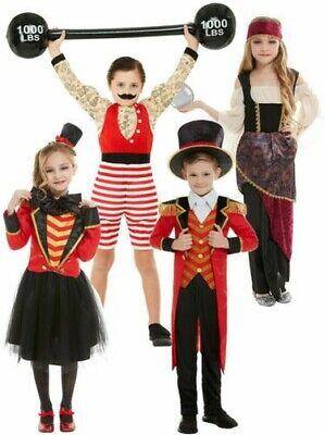 Kinder Zirkusdirektor Strongman Kostüm Showman Zirkus Jungen Mädchen Outfit