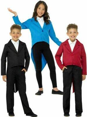 Jungen Mädchen Frack Jacke Kostüm Kinder Zirkusdirektor Größte - Kind Zirkusdirektor Kostüme