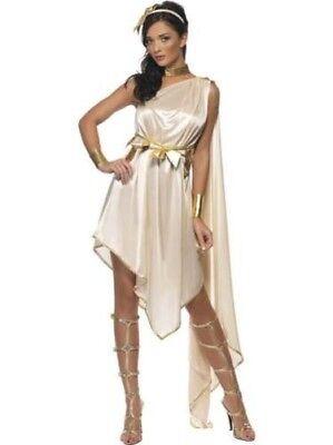 Damen Fieber Göttin Kostüm Grichischer Römische Toga Spartaner - Göttin Venus Kostüm