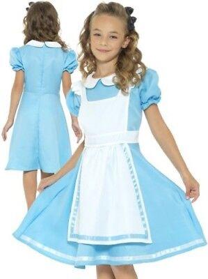 Mädchen Wunderland Prinzessin Kostüm Alice Im Kostüm Kinder Welttag des (Kind Prinzessin Alice Kostüme)