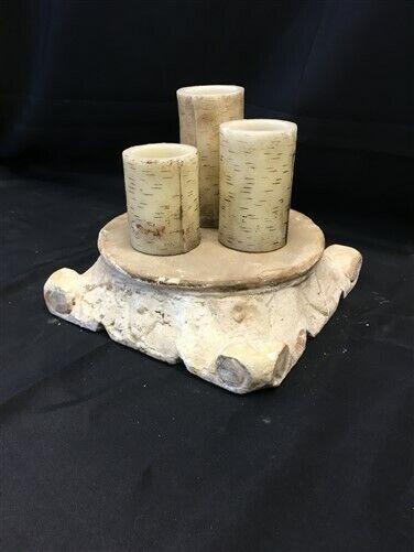Wooden Architectural Column Base, Ionic Column Plinth, Wood Riser Base J