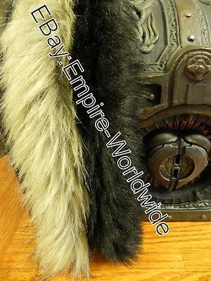 JACK SPARROW costume belt FUR PELTS charm trinkets accessories (Jack Sparrow Costumes)