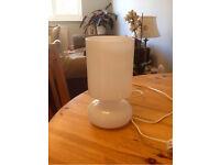 IKEA Glass Lamp