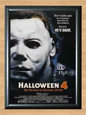 Halloween 4 The Return of Michael Myers Movie Horror Party Wall A4 Poster Print ()