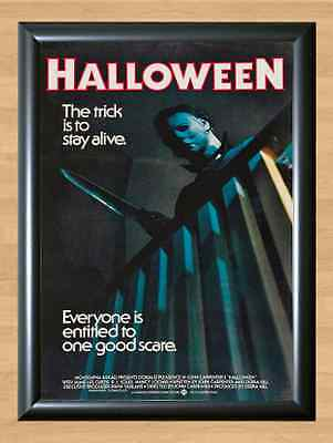 Halloween Michael Myers Slasher Movie Horror Party Deco Wall A4 Poster Print ()