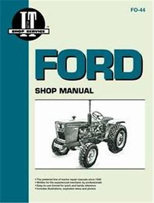 Ford 1100 1200 1300 1500 1710 1910 Tractor It Brand Shop Repair Manual Fo44
