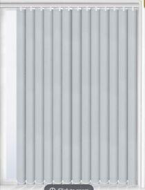 Grey Vertical Blinds - Blackout