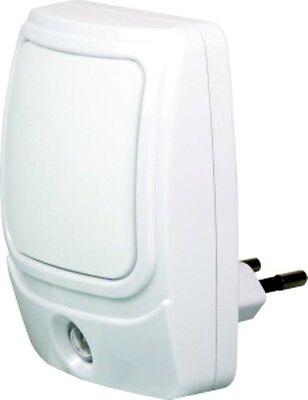 230v Eu Plug EcoSavers Automatic LED Nightlight with daylight sensor activates