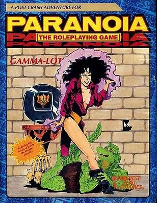 Paranoia Gamma-lot Sealed The Roleplaying Game West End Module 12021