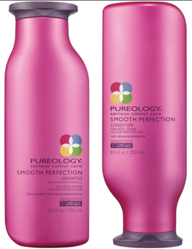 Pureology Smooth Perfection Shampoo And Conditioner duo 8.5