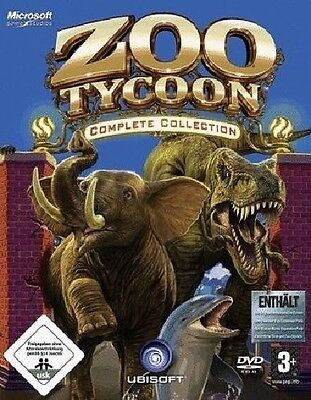 ZOO TYCOON COMPLETE COLLECTION - PC DVD-ROM - NEU for sale  Shipping to South Africa