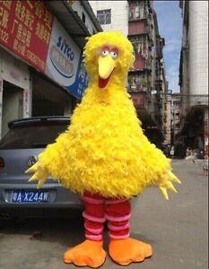 Big Bird (Sesame Street)Adult Mascot Costume For Festival/valentine's day