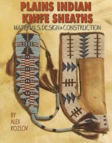 Plains Indian Beaded Knife Sheath Guide Native American