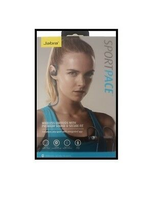 OEM Jabra Sport Pace Wireless Bluetooth Stereo Headphones Headset Blac, used for sale  Shipping to India