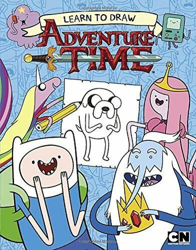**NEW** - Learn to Draw Adventure Time (Paperback) 0843182806