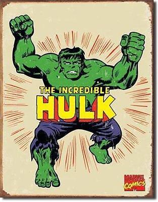 Incredible Hulk  Marvel Comic Book Movie Tin Sign Retro Room Decor Gift USA 16