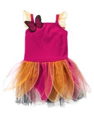 GYMBOREE HALLOWEEN MONARCH BUTTERFLY 1-PC COSTUME 6 12 18 24 2T 3T NWT