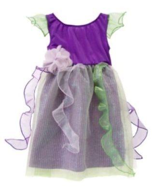 GYMBOREE PIXIE FAIRY!Halloween Costume!  Dress! 3 4 5 6  NEW! - Gymboree Halloween Dress
