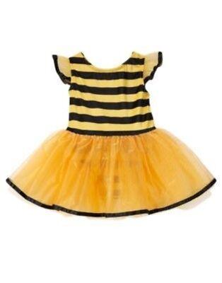 GYMBOREE HALLOWEEN BEE TULLE SKIRT 1-PC COSTUME 6 12 18 24 2T 3T 4T 5T (Halloween Kostüme 5t)