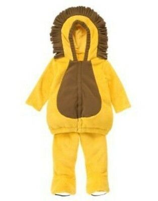 GYMBOREE KING OF THE JUNGLE LION 2-pc HALLOWEEN COSTUME 6 12 18 24 2 3 4 5 - 3 Kings Costumes