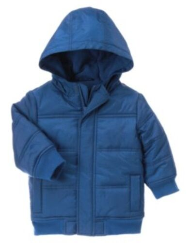 GYMBOREE NORTH POLE EXPRESS HOODED JACKET 6 12 24 2T 3T 4T 5T NWT