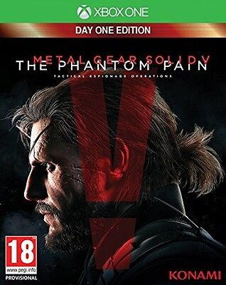 Metal Gear Solid V The Phantom Pain Day One Edition   Xbox One  NEW&SEALED