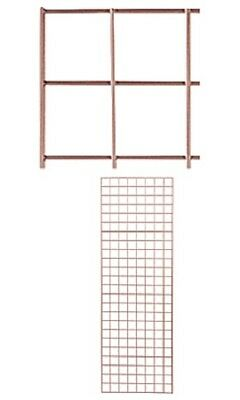Grid Panel 2 X 6 Set Of 4 Panels Rose Gold Retail Display Craft Wire Gridwall