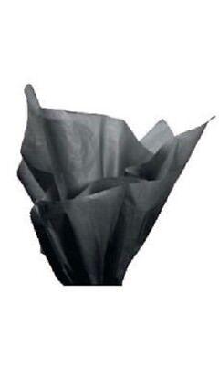 Tissue Paper Black 20