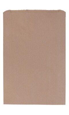 Paper Bags Kraft 500 Flat Natural Retail Sales Merchandise 17 X 3 X 24 Bag