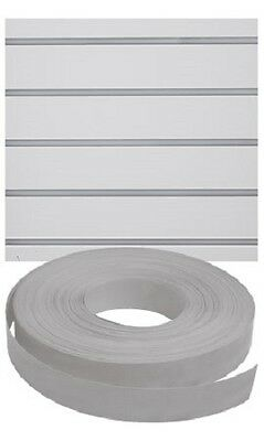 Vinyl Inserts Slatwall Panel Gray Shelving Display 130 Ft 6 Rolls Decorative
