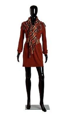 Black Female Mannequin 31 Bust 24 Waist 33 Hips 58 Tall Full Body